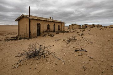 Kolmanskop, Namibië sur Martijn Smeets
