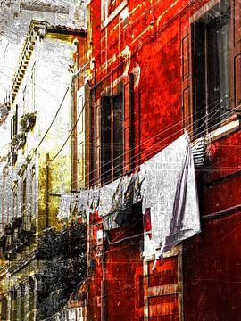 Venetian laundry von Gabi Hampe
