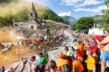 Alpe d'Huez Kurve 7 von Leon van Bon