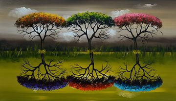 Seasons von Gena Theheartofart