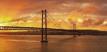 Lisbonne au coucher du soleil