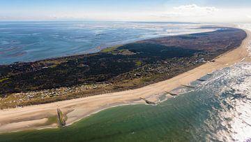 Noordzeestrand Vlieland van Roel Ovinge