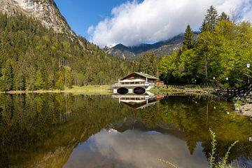 Pflegersee à Garmisch-Partenkirchen sur Teresa Bauer