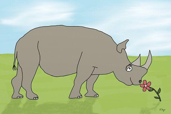 Nashorn van Andrea Meyer