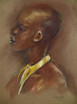 Afrikaanse schoonheid. van Ineke de Rijk