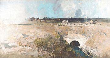 Arthur Streeton~Tunnel Bellcourt