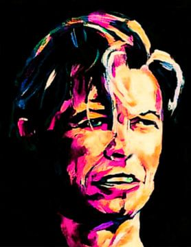 David Bowie Pop Art PUR Serie 1 sur Felix von Altersheim