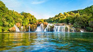 Krka Wasserfall in Kroatien