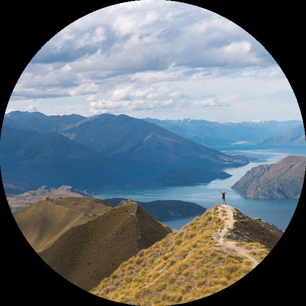 Roys Peak, Wanaka von Jasper van der Meij