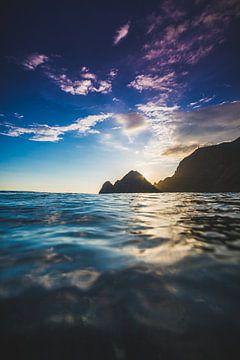 Sumbawa zonsondergang van Andy Troy