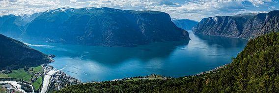 Aurlandsfjorden van Annette Kempers