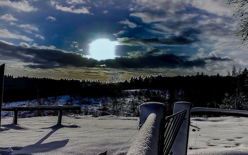 Painterly Beauty,... Morgen des Winters von PhotoManiX Digital Photography