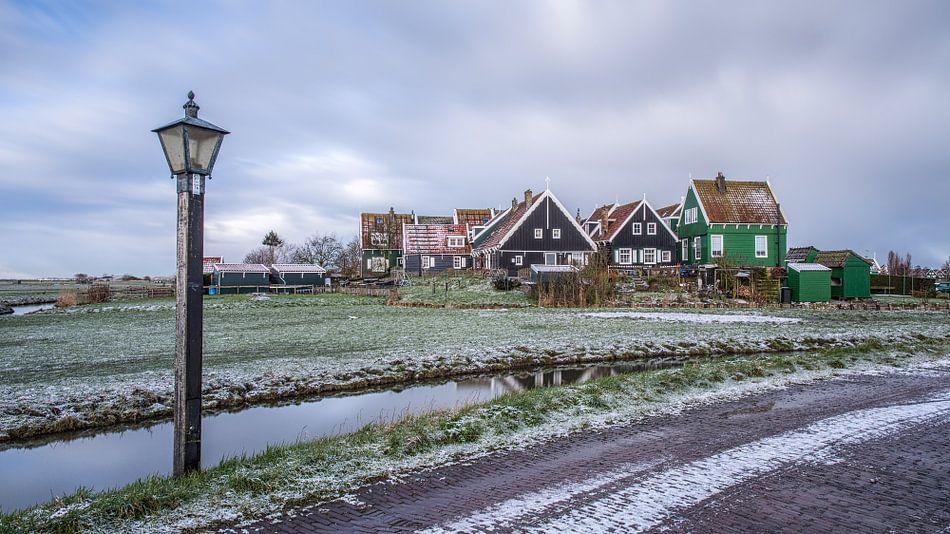 Marken in de winter van Peter Korevaar