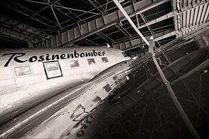 Bombardier Raisin à l'ancien aéroport de Tempelhof à Berlin