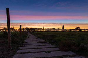 Zutphen / Sunrise over Zutphen