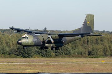 C-160D Transall de l'armée de l'air allemande sur Dirk Jan de Ridder