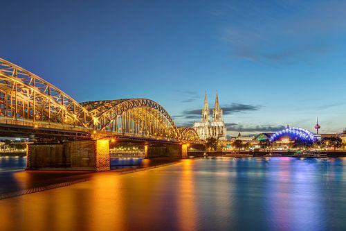 Köln Skyline von