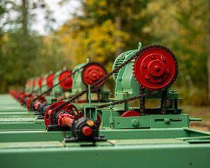 Motoren im Wald ( Waterloopbos ) von Wouter van Agtmaal
