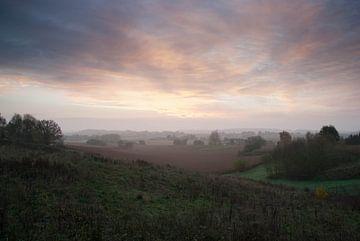 Sonnenaufgang Leefdaal von Manuel Declerck