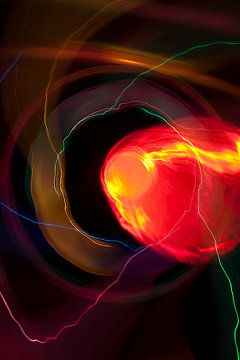 Abstrakte Kunst--Licht Spiel-01 von Katja Goede