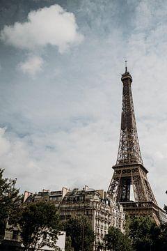 Paris, la Tour Eifel sur Santiago De Flô