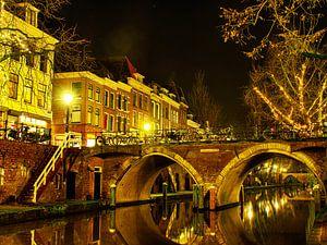 Utrecht bij lampenlicht