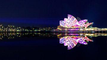 Vivid Sydney Opera House van