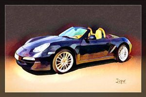 Porsche Boxster van