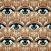 Blick (regelmäßiges Muster der Augen) von Ruben van Gogh Miniaturansicht