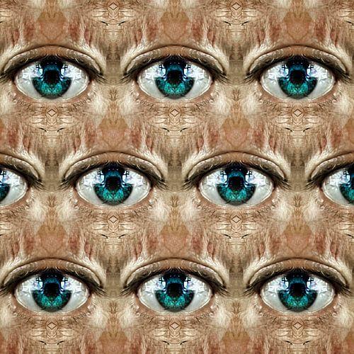 Look (regelmatig patroon van ogen)