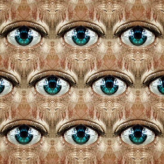 Blick (regelmäßiges Muster der Augen)