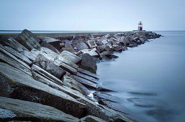De Noordpier bij Wijk aan Zee sur Fotografie Egmond
