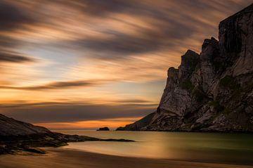 Bunes Beach van Wojciech Kruczynski