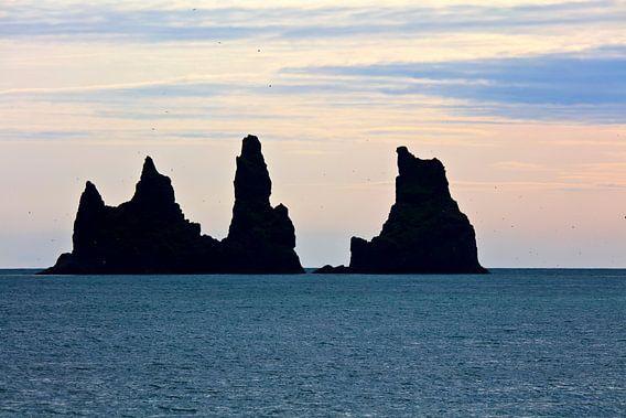 Reynisdrangar te IJsland