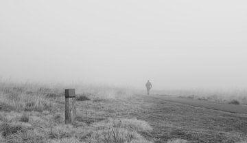 Spaziergänger im Nebel von BP67fotografie