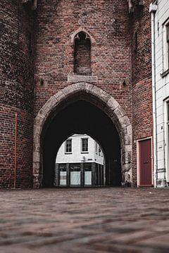 Das Tor des Sassenpoort von Kyra de Putter