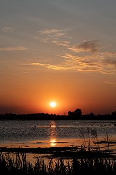Sonnenuntergang Roegwold von Anjo ten Kate