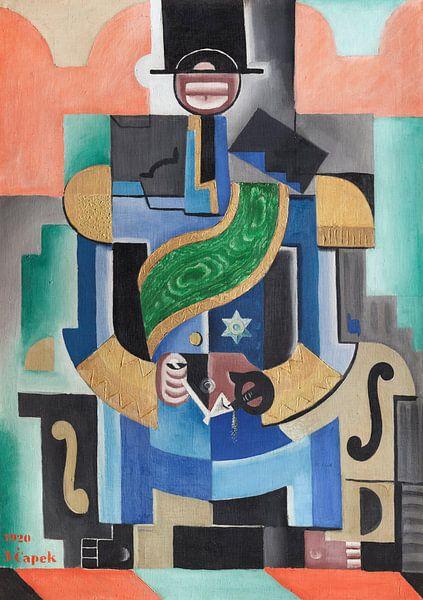 Josef Čapek~Afrikaanse koning van finemasterpiece