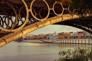 Zicht op Triana, Sevilla