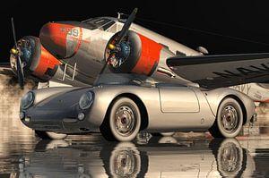 Der Porsche 550 Spyder der ikonischste Sportwagen