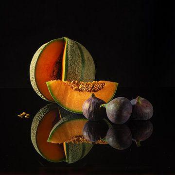 Fruits d'été colorés sur