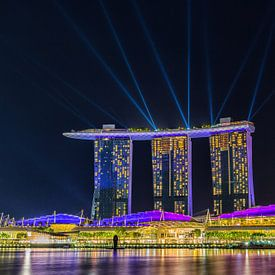 Singapore Marina Bay Sands (Hotel). van Delano Gonsalves