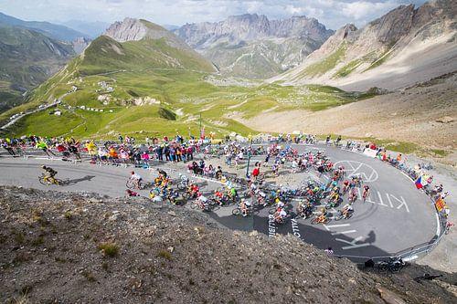 Tour de France - Col d'Izoard von Leon van Bon