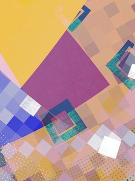 geometrische logica van Claudia Gründler