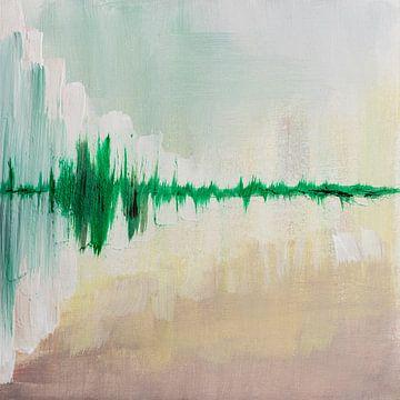 Grüner Horizont von Joske Kempink