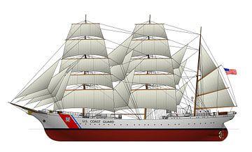 USCGC Eagle van Simons Ships
