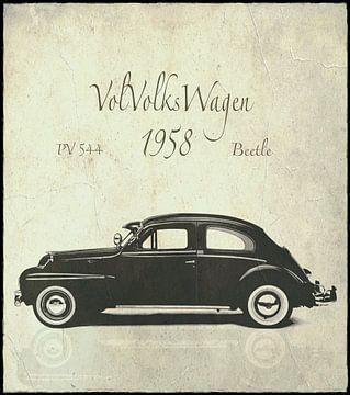 OLDTIMERS Volvo Volkswagen CLASSIC CARS van Borgo San Bernardo