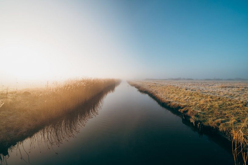 Middelburg, un lever de soleil froid 1 sur Andy Troy