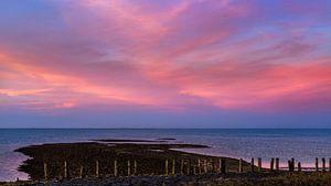 Prachtige wolkenlucht boven de Oosterschelde van Emajeur Fotografie