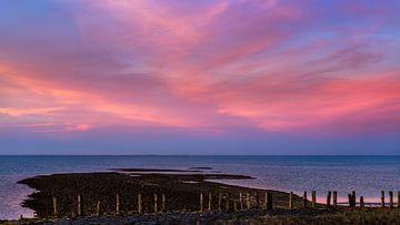 Schöne Wolken über der Oosterschelde von Emajeur Fotografie